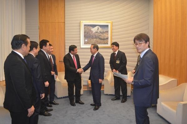 Đồng chí Nguyễn Xuân Thắng thăm và làm việc tại Nhật Bản