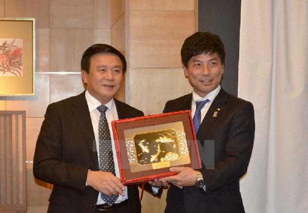 グェン・スァン・タンベトナムホーチミン国家政治学院長一行の訪日