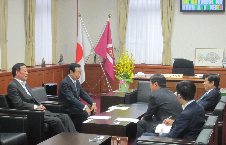 Đại sứ Nguyễn Quốc Cường thăm tỉnh Yamanashi