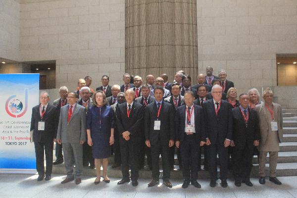 Chánh án Tòa án nhân dân tối cao Việt Nam tham dự Hội nghị Chánh án các nước châu Á-Thái Bình Dương lần thứ 17 tại Nhật Bản