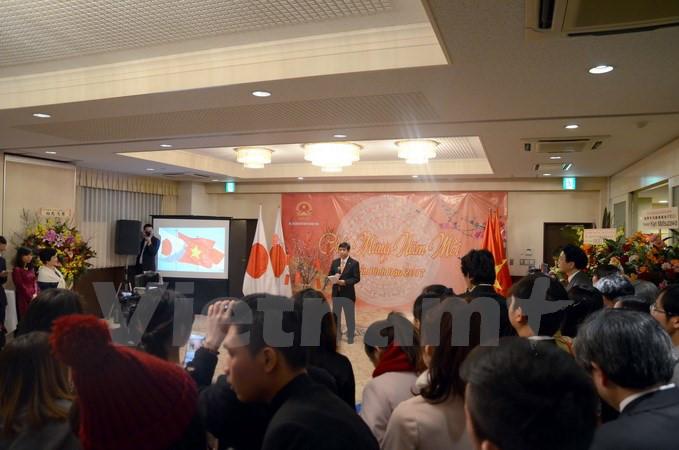 Ấm áp Tết cộng đồng của người Việt Nam tại Nhật Bản