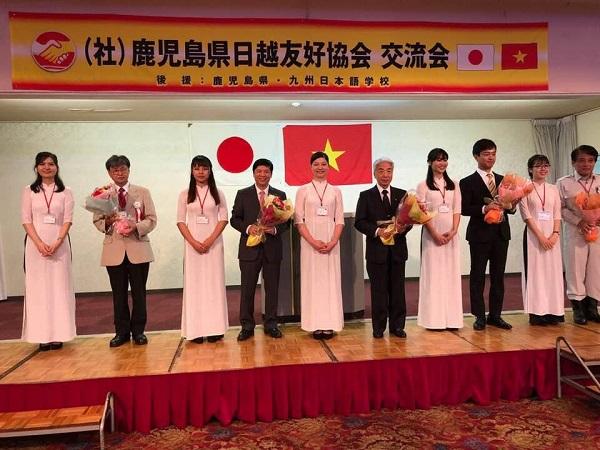 グェン・クオック・クオン大使は鹿児島県を訪問した
