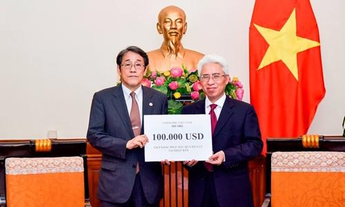 ベトナム政府、西日本豪雨で10万ドル寄付
