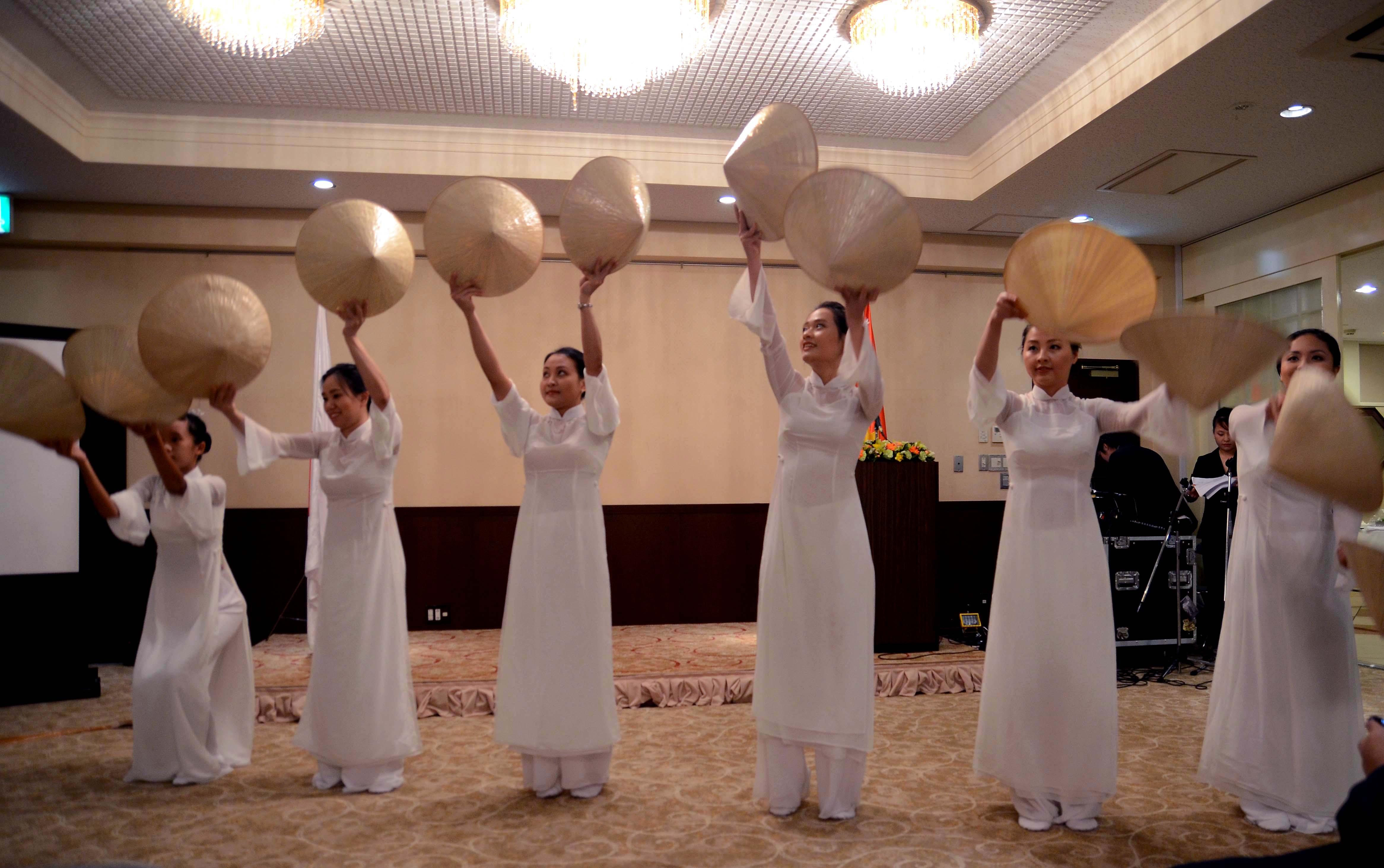 日本において美しいベトナムと言う文化交流