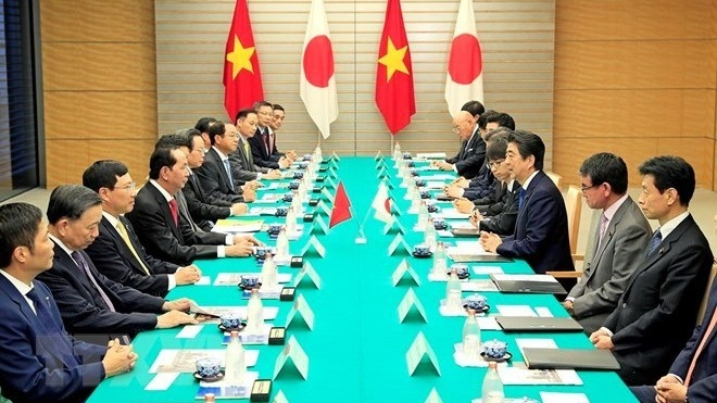Vietnam, Japan issue joint statement