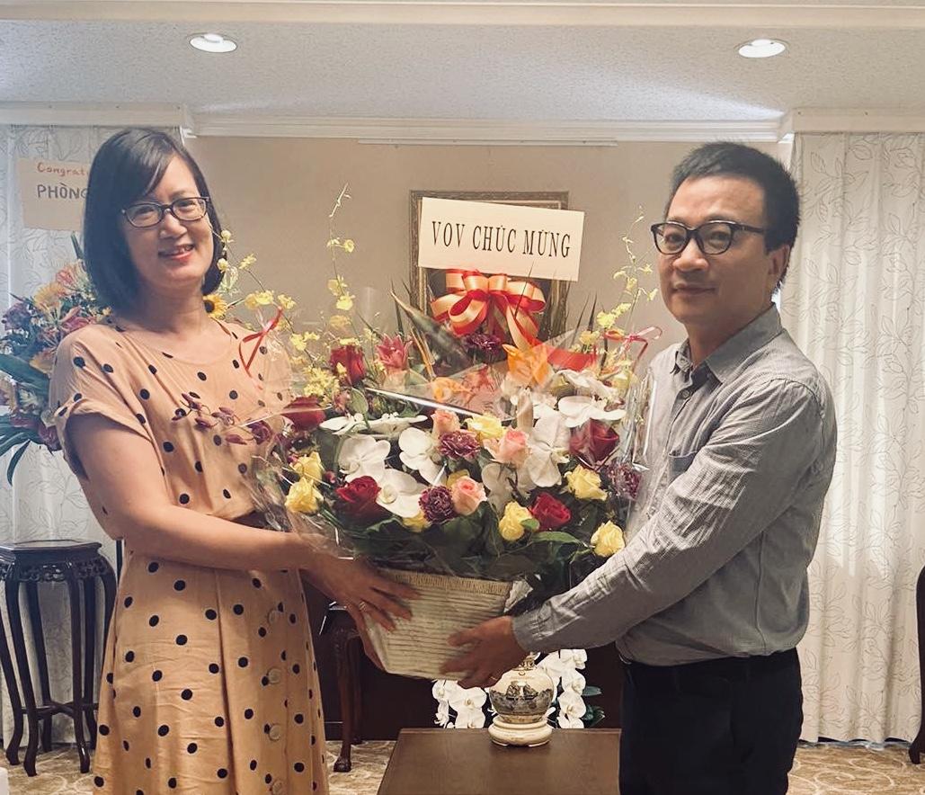 Đài tiếng nói Việt Nam chúc mừng 75 ngày thành lập ngành Ngoại giao