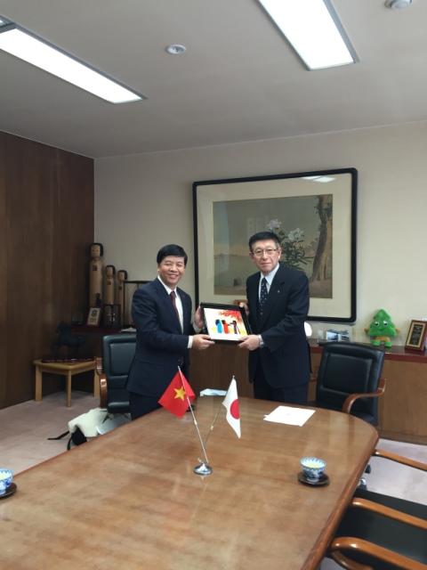 Mở rộng cơ hội hợp tác nông nghiệp và hợp tác nguồn nhân lực với tỉnh Akita