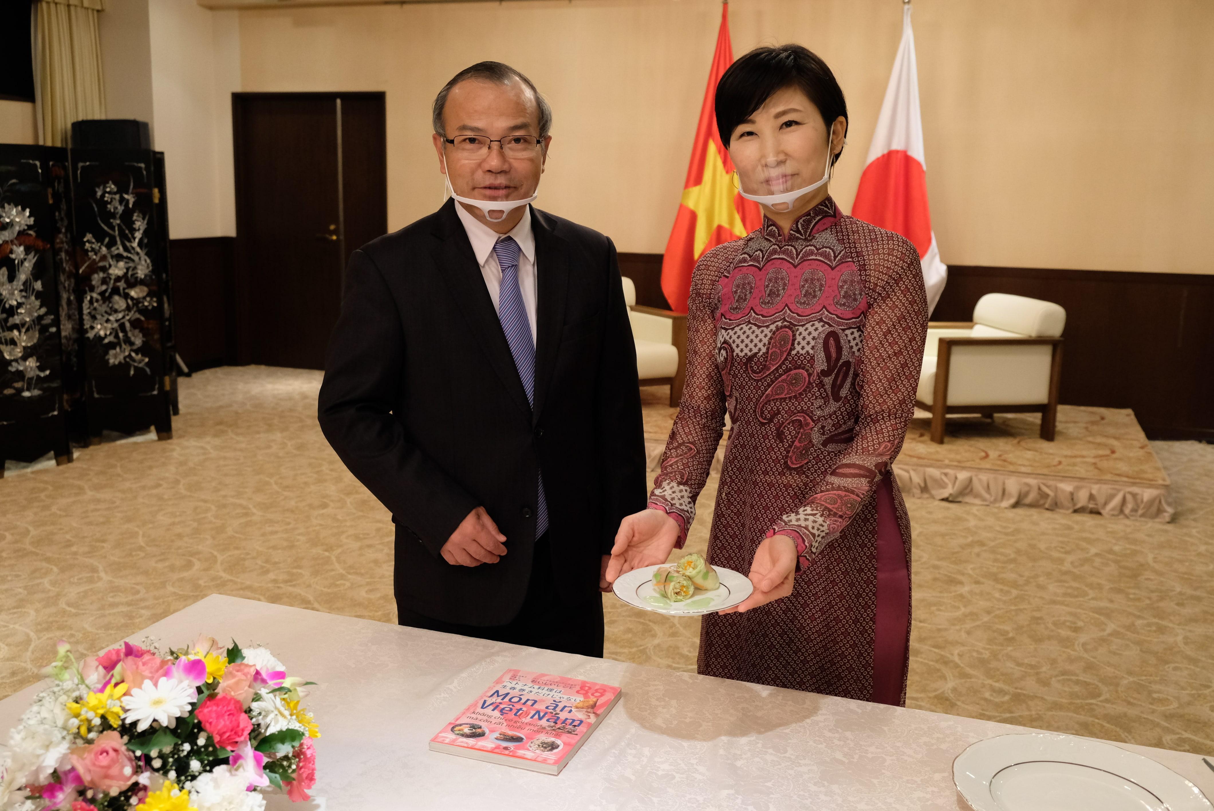 Đại sứ Vũ Hồng Nam dự sự kiện Giao lưu ẩm thực Gunma-Việt Nam