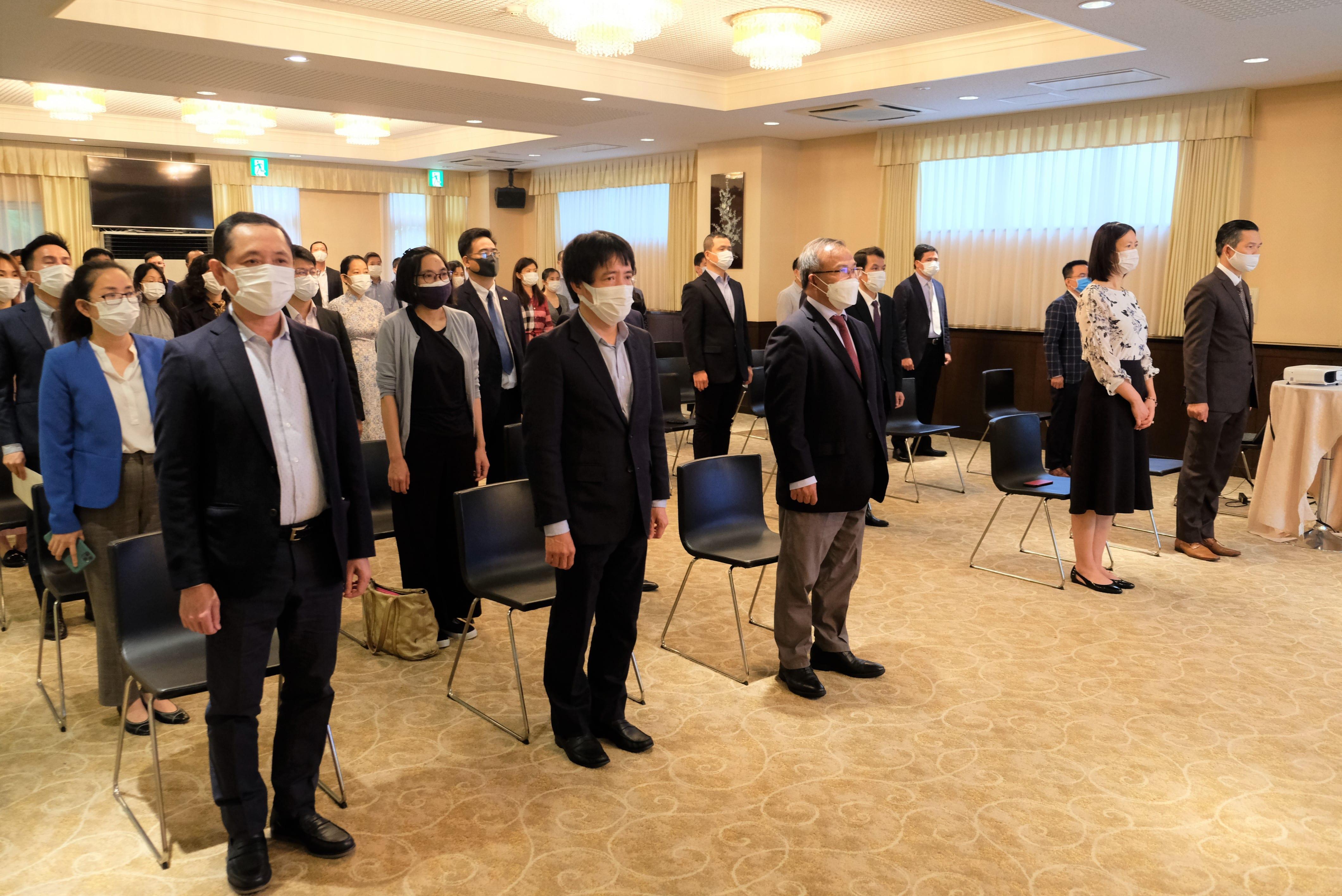 Đại sứ quán Việt Nam tại Nhật Bản tổ chức Lễ kỷ niệm 131 năm ngày sinh Chủ tịch Hồ Chí Minh