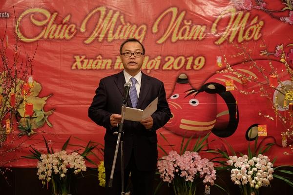 Đại sứ quán Việt Nam tại Nhật Bản tổ chức Tết Cộng đồng 2019