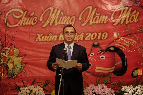 Toàn văn Bài phát biểu của Đại sứ Vũ Hồng Nam tại Tết Cộng đồng mừng xuân Kỷ Hợi 2019