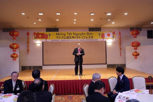 ナム大使、鹿児島県で旧暦正月テト祝賀会へ参加