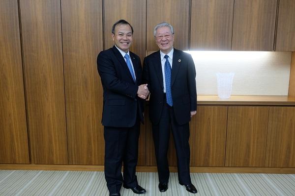 ナム大使:経団連を訪問