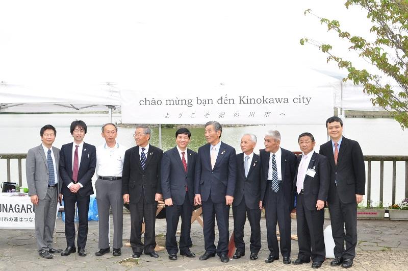 Tỉnh Wakayama mong muốn thúc đẩy hơn nữa quan hệ với Việt Nam