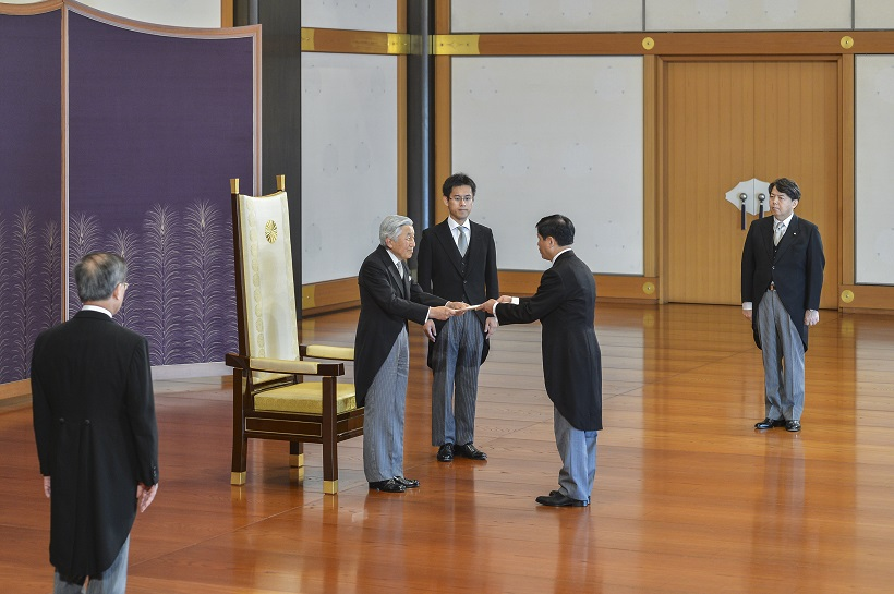 Vietnamese Ambassador to Japan presents credentials