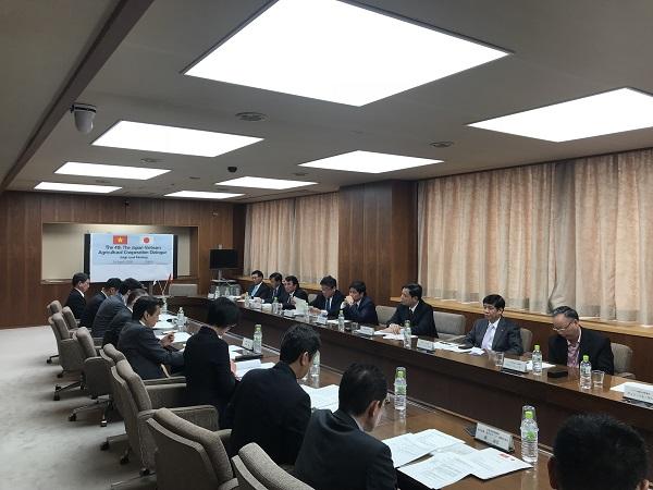 Bộ trưởng Bộ Nông nghiệp và Phát triển nông thôn Nguyễn Xuân Cường thăm và làm việc tại Nhật Bản