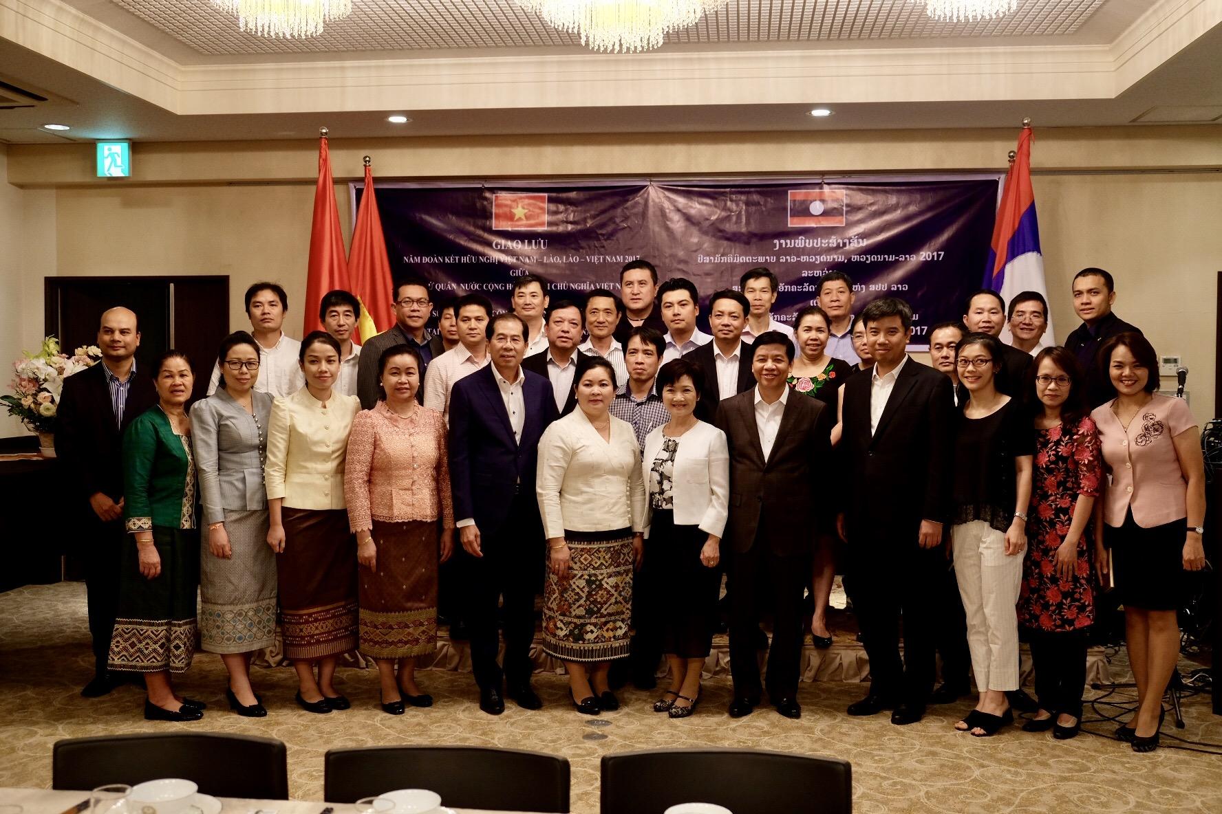 在京ベトナム・ラオス大使館:文化交流会
