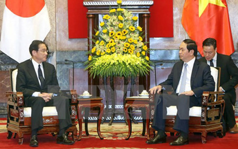 Vietnam considers Japan long-term partner: President