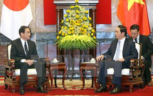 Vietnam considers Japan long-term partner: President