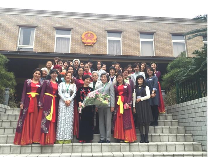 Giao lưu ẩm thực Việt Nam tại Đại sứ quán Việt Nam ở Tokyo