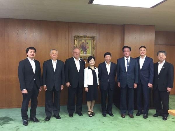 Đại sứ Nguyễn Quốc Cường thăm tỉnh IWATE và tỉnh HOKKAIDO