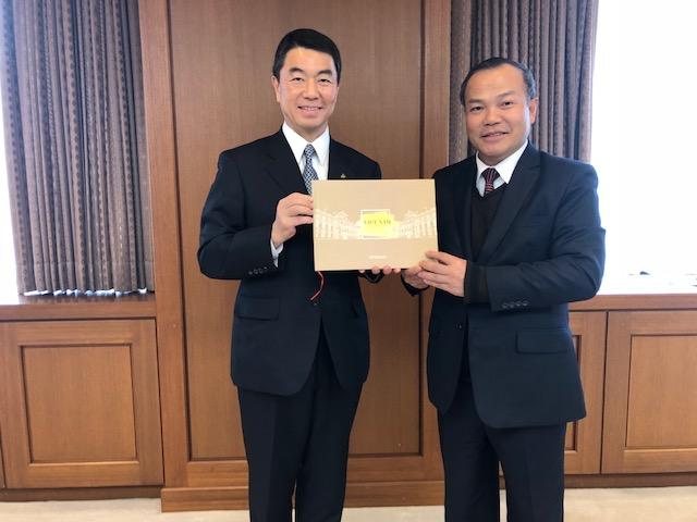 ヴー・ホン・ナム駐日ベトナム大使が東北にある宮城県と福島県を正式に訪問