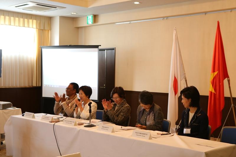 Đại sứ quán Việt Nam tại Nhật Bản chủ trì cuộc họp Hội phụ nữ Châu Á-Thái Bình Dương