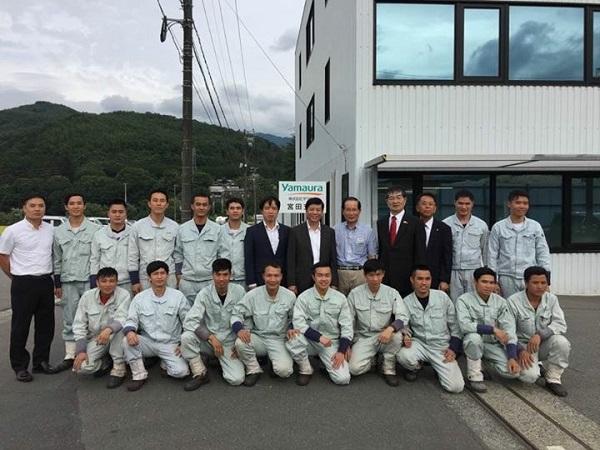 グェン・クオック・クオン大使は長野県駒ヶ根市の昭和伊南総合病院を訪問