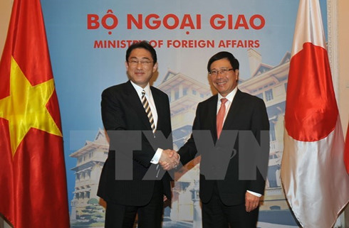 Japan, Vietnam agree to increase political trust
