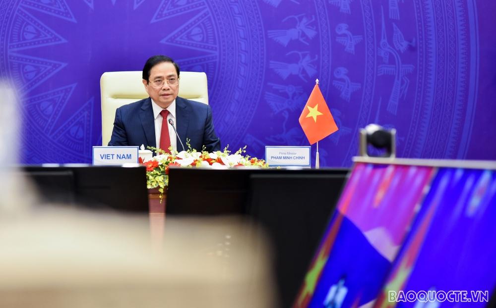 日本経済新聞社主催アジアの未来国際交流会議における ファム・ミン・チンベトナム首相の講演