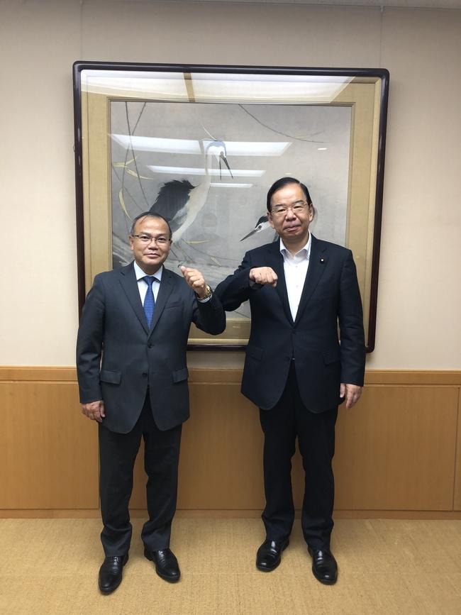 ヴー・ホン・ナム大使と日本共産党幹部会委員長との会談