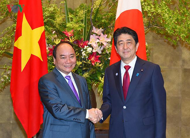 Toàn cảnh chuyến thăm Nhật Bản của Thủ tướng Nguyễn Xuân Phúc qua ảnh