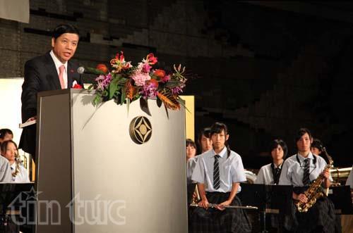 Phát biểu khai mạc tại buổi chiêu đãi chào mừng kỷ niệm 70 năm Quốc Khánh Nước Cộng Hòa Xã Hội Chủ Nghĩa Việt Nam