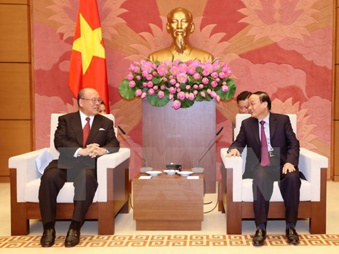 Vietnam, Japan parliamentarians boost cooperation