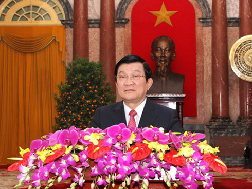 President Sang extends New Year greetings