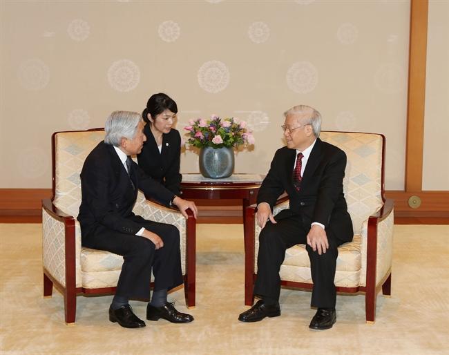 グエン・フー・チョン・ベトナム共産党書記長は、日本公式訪問