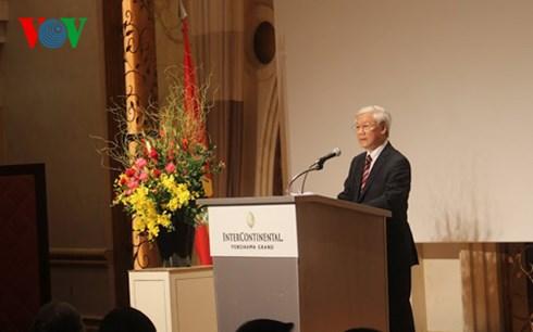 Tổng Bí thư dự khai mạc Ngày Việt Nam tại Kanagawa