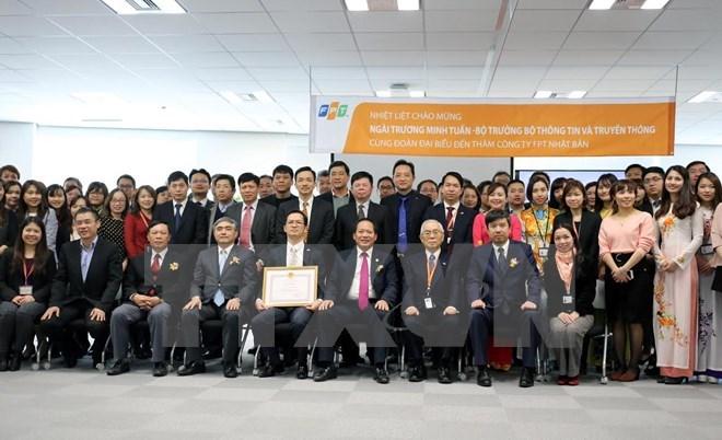 Vietnam's FPT Japan hailed for strengthening bilateral ties