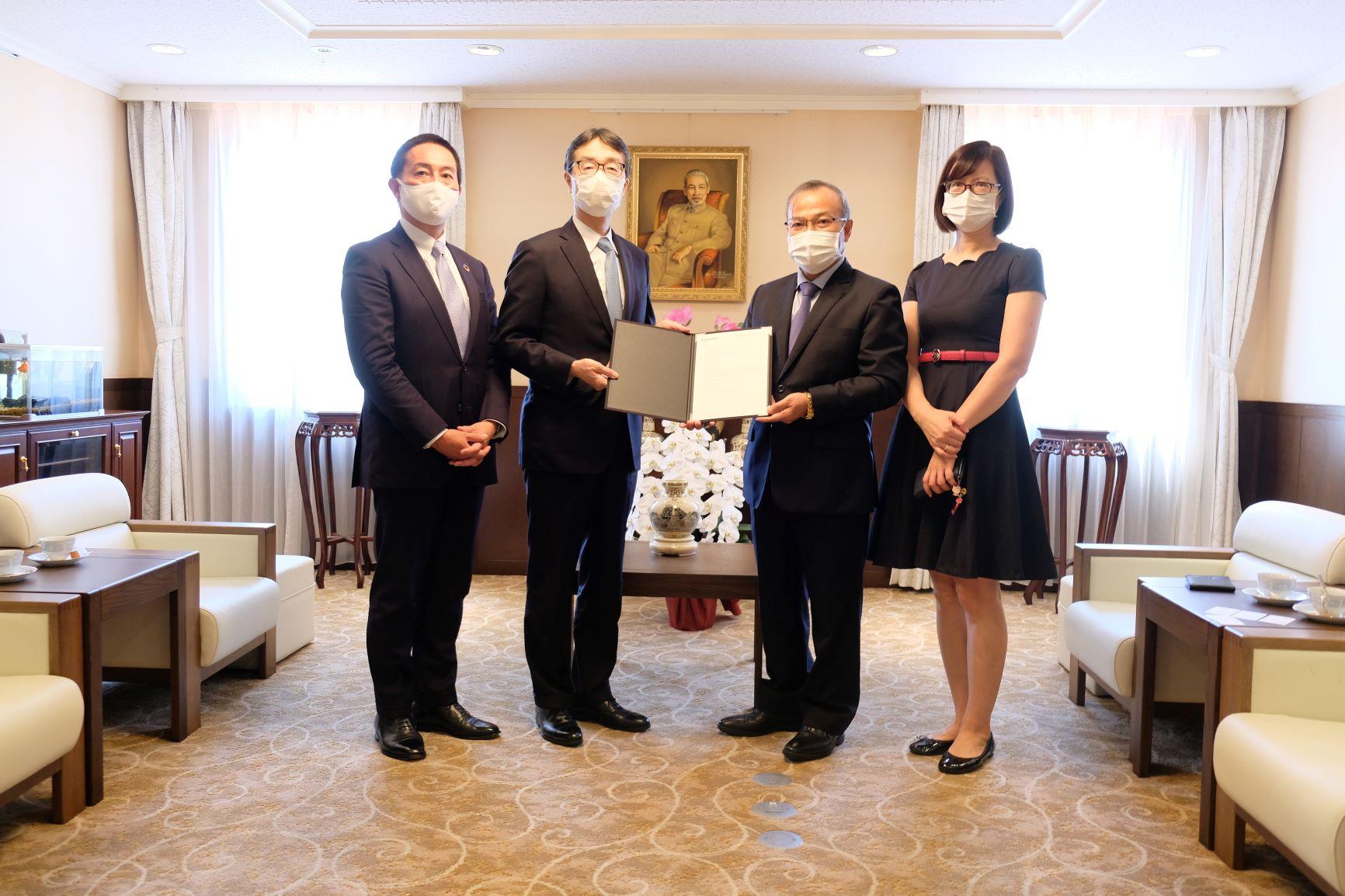 Ngân hàng MUFG hỗ trợ học sinh Việt Nam tại Nhật Bản