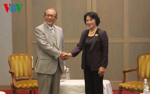 Phó Chủ tịch Quốc hội Nguyễn Thị Kim Ngân ngày 24/8 đã đến Tokyo, bắt đầu chuyến thăm chính thức Nhật Bản từ ngày 24-30/8
