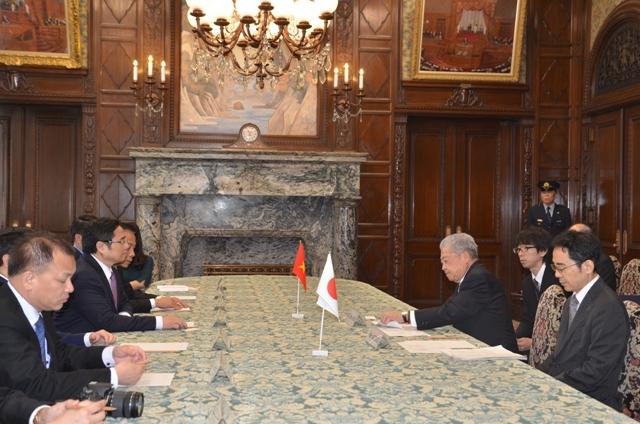 Giới chức Nhật Bản mong muốn đẩy mạnh hợp tác với Việt Nam trên các lĩnh vực