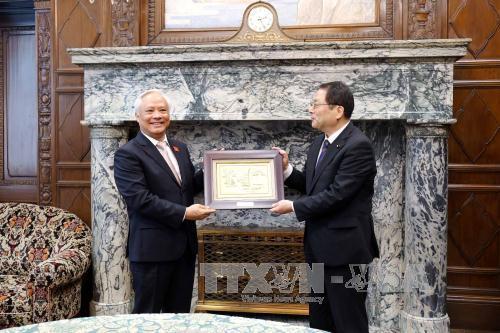 Phó Chủ tịch Quốc hội Uông Chu Lưu thăm Hạ viện và Thượng viện Nhật Bản