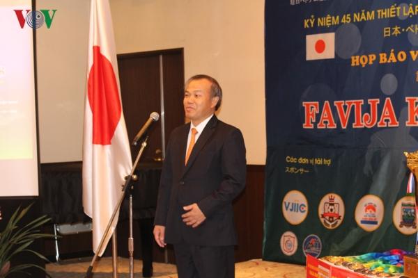 Giải bóng đá Favija Kanto Cup 2018: Thắt chặt mối quan hệ thân thiết giữa Việt Nam và Nhật Bản
