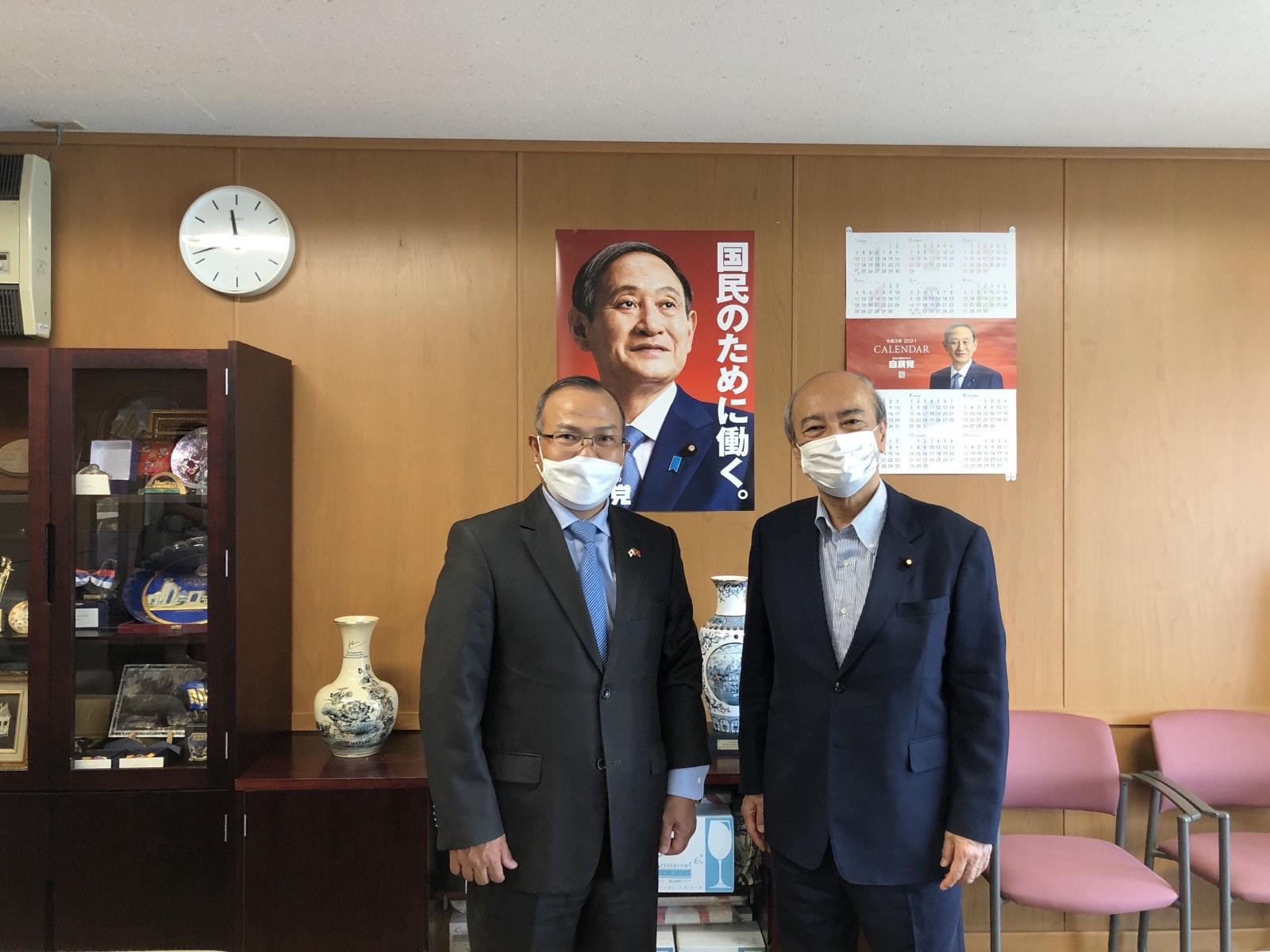 Thúc đẩy hợp tác chính đảng góp phần tăng cường hơn nữa hợp tác giữa hai nước Việt Nam và Nhật Bản
