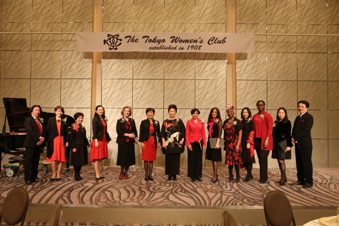Phu nhân Đại sứ dự hoạt động của Câu lạc bộ Quý bà Tokyo