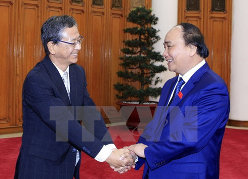 Japanese Ambassador - First guest of new gov't welcomed
