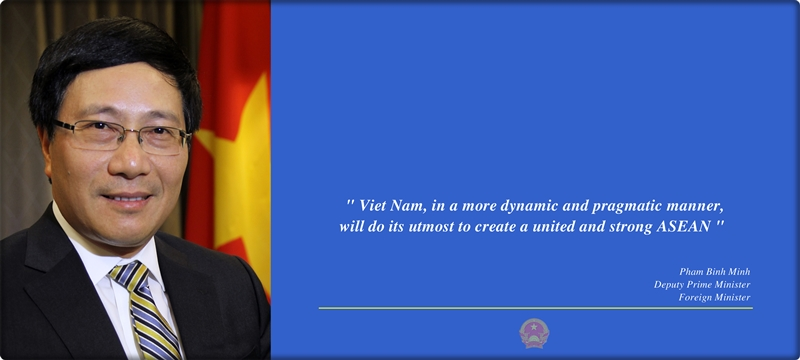 Deputy Prime Minister and Foreign Minister Pham Binh Minh writes about contributions of Viet Nam to ASEAN Community