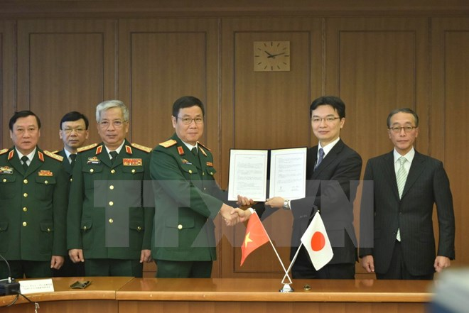 Closer Vietnam-Japan defence ties enhance mutual trust