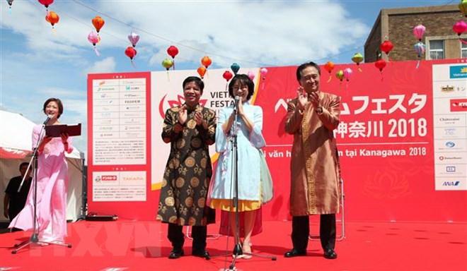 Vietnam festival in Japan draws large crowds