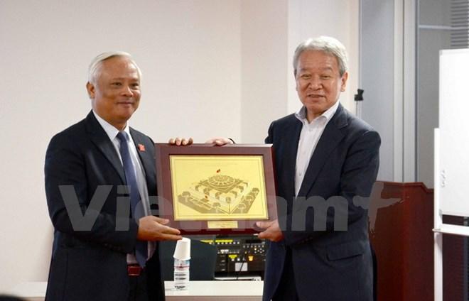 ベトナム共産党中央委員会委員、国会副議長ウオン・チュ・リュウ氏が率いる国会代表団が日本を訪問